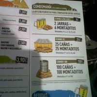 Photo taken at 100 Montaditos by Camila M. on 10/19/2012