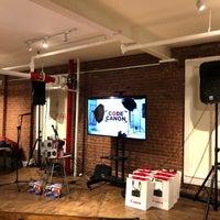 Photo taken at Impact Hub NYC by Arin R. on 12/2/2017