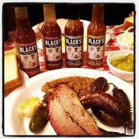 Photo taken at Black's Barbecue by Motts D. on 11/6/2012