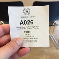 Photo taken at Texas Department of Public Safety by Motts D. on 7/24/2014