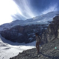 Photo taken at Plain Of Six Glaciers by Joshua I. on 10/7/2015