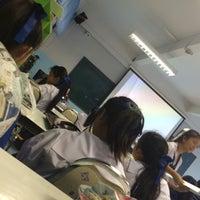 Photo taken at ห้องศูนย์คณิตศาสตร์ โรงเรียนสามัคคีวิทยาคม by Aioon🐳 on 12/3/2015
