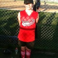 Photo taken at Lake Villa Baseball Park by Kathryn M. on 5/8/2013