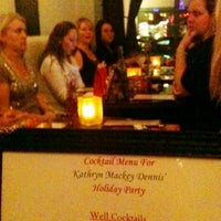 Photo taken at Olive Black Martini and Wine Lounge by Kathryn M. on 12/7/2012