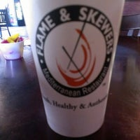 Photo taken at Flame and Skewers by Mike D. on 1/22/2013