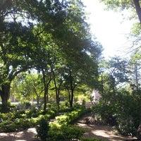 Photo taken at Parque De La Memoria by Sara M. on 3/2/2013