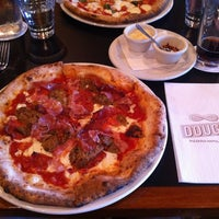 Photo taken at DOUGH Pizzeria Napoletana by Tyrone B. on 6/29/2013