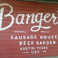 Foto scattata a Banger's Sausage House & Beer Garden da Landon T. il 3/23/2013