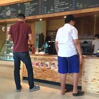 Photo taken at b-made coffee&bakery by εαяив on 8/7/2015
