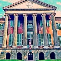 Photo taken at Harrison Randolph Hall, College of Charleston by Mark S. on 8/30/2013