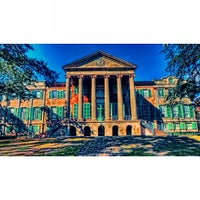 Photo taken at Harrison Randolph Hall, College of Charleston by Mark S. on 7/15/2013