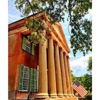 Photo taken at Harrison Randolph Hall, College of Charleston by Mark S. on 4/29/2014