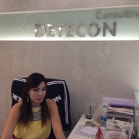 Photo taken at DETECON Consulting - Bangkok Office by Theera M. on 4/24/2014