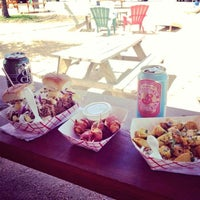 Photo taken at Clearfork Food Park by Nope N. on 6/30/2013