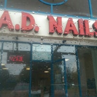 Photo taken at A.D. Nails by Mely on 10/1/2015