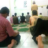 Photo taken at Masjid mubarok by Antona S. on 10/3/2012