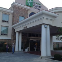 Photo taken at Holiday Inn Express & Suites Conroe I-45 North by Andy D. on 9/18/2013