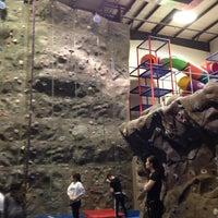 Photo taken at Randolph Climbing Center by Eileen W. on 1/8/2014