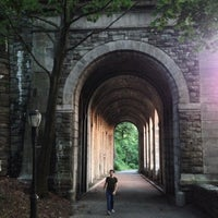 Photo taken at Fort Tryon Park by Ryan B. on 6/10/2013