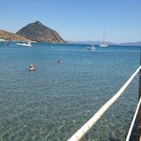 Photo taken at Parıltı Beach by Ajlan A. on 7/13/2015