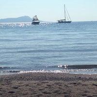 Photo taken at Parıltı Beach by Ajlan A. on 7/17/2015