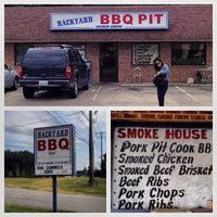 Photo taken at Backyard BBQ Pit by Matthew P. on 9/19/2013