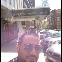 Photo taken at Embajada De Los Emiratos Arabes Unidos by TALAL A. on 3/23/2014