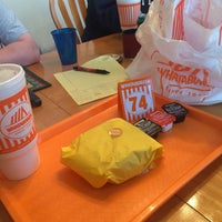 Photo taken at Whataburger by James B. on 12/27/2014