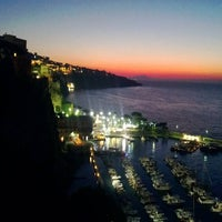 Photo taken at Europa Palace Grand Hotel Sorrento by Carsten on 9/3/2013