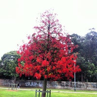 Photo taken at Camperdown Memorial Rest Park by Joe O. on 11/21/2012