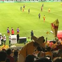 Photo taken at Estadio Morelos VIP by Maru Y. on 4/30/2017