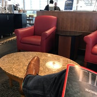 Photo taken at Delta Sky Club by Theron T. on 3/20/2017