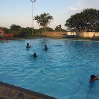 Photo taken at Tesoriere Swimming Pool by Chris F. on 4/1/2016