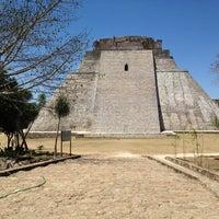 Foto tomada en Zona Arqueológica de Uxmal por Emilio B. el 3/9/2013