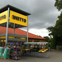 Photo taken at Haarby Netto by Gitte S. on 7/25/2013