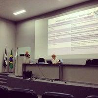 Photo taken at Auditório Azul UFPR by Amanda V. on 3/19/2014