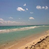 Photo taken at Playa Xaman-Ha by Top Mexico Real Estate on 11/5/2012