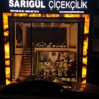 Photo taken at Elif Çiçekçilik by Sinan B. on 11/19/2016