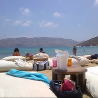Photo taken at Panormos Beach by Shari F. on 7/5/2013