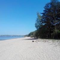 Photo taken at пляж by Олег С. on 5/19/2014