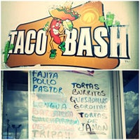 Photo taken at Taco Bash by ArtJonak on 6/24/2013
