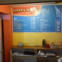 Photo taken at Happy Eggs All-Day Breakfast Place by Alma H. on 6/13/2013