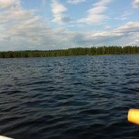 Photo taken at Moksunjärvi by Otto M. on 7/13/2013