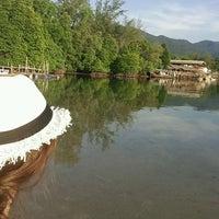 Photo taken at Keereeta Lagoon, Koh Chang by Fatma S. on 1/28/2017