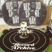 Photo taken at Record Archive by Alayna A. on 4/13/2015