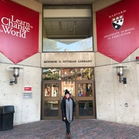Photo taken at Gutman Library (HGSE) by Jim W. on 11/10/2017