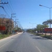 Photo taken at ถนนสายหนึ่งในเชียงราย by moshi l. on 2/2/2014