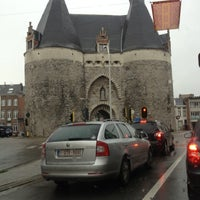 Photo taken at Brusselsepoort by Anouk O. on 11/5/2012