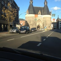 Photo taken at Brusselsepoort by Anouk O. on 10/28/2012