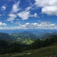 Photo taken at Latemar 360° by viola on 7/15/2017